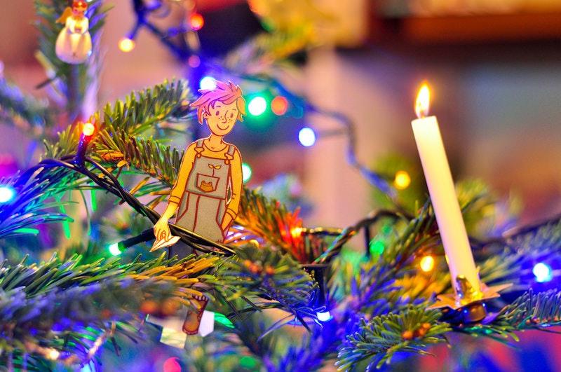 1. Вилли ищет Деда Мороза