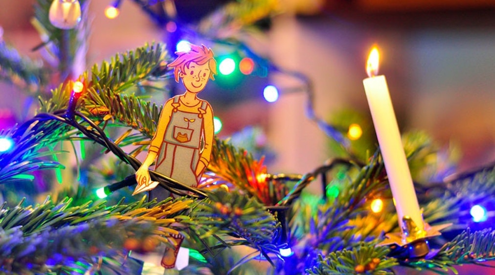 1 часть. Вилли ищет Деда Мороза