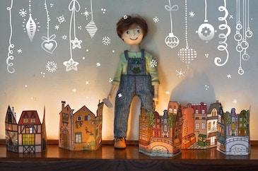2 часть. Вилли помогает Деду Морозу